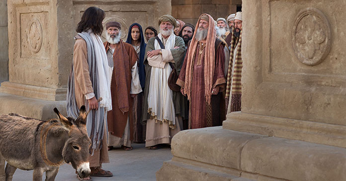 The Chanted Word: Palm Sunday Mass part 1